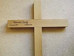 Wonderlijk Kalligrafie op hout en steen - Kraan Crea DZ-27